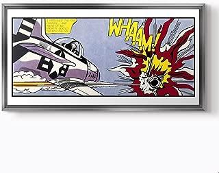 PlusCanvas - Whaam - Roy Lichtenstein - 120 x 60cm (48