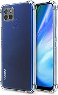 RJYWSQH Oppo Realme V3 5G Phone Case, Oppo Realme V3 5G Case Shockproof TPU Bumper Soft Anti-Scratch Protective Cover for ...