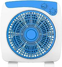 Ventilateur de table, 360 ° d'alimentation d'air léger ventilateur électrique 6 feuilles de sécurité Grille Circulation de...