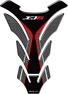 3D Motorcycle Gas Tank Pad Protector Decal Stickers Case for Yamaha XJ6 SP ABS Tank (B)