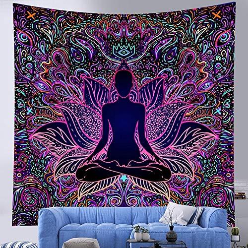 Indian Mandala Tapices Tapizas de brujería Setas Bohemia Herramienta Alfombra Medicina Decoración del hogar Hippie Bed Single Yoga Alfombra