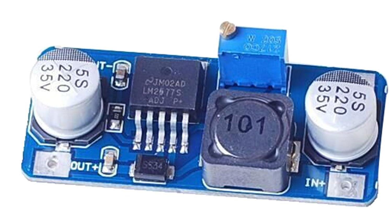 SUNKEE LM2577 DC-DC Adjustable Step-up Power Converter Module