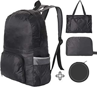 Ultra Lightweight Foldable Outdoor Backpacks for Water Resistant Hiking Daypack