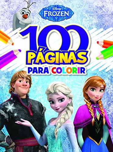 100 Paginas Para Colorir - Frozen