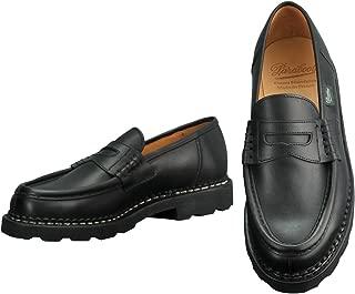 [パラブーツ] ローファー ランス REIMS メンズ靴 ブラック LISオイルドレザー ラバーソール reims-099412 国内正規取扱店
