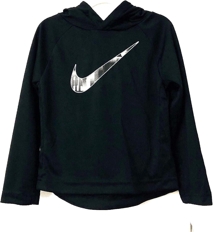 Nike Kids Boy's Dri-FIT Long Sleeve Pullover Hoodie (Toddler)