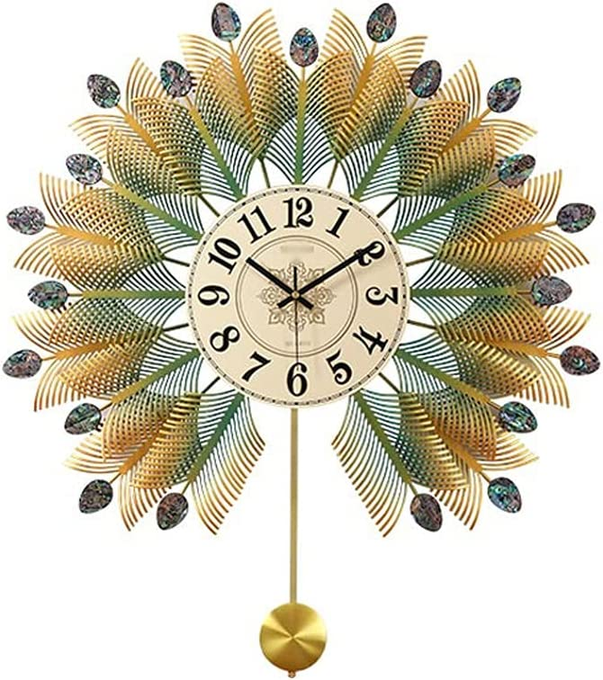 Large discharge sale STRAW European Large Size Wall Ranking TOP6 Living Personality Clock Room Fas