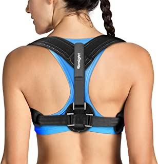 Tomight Back Posture Corrector for Women & Men, Adjustable Back Brace to comfortably Improve Posture-Clavicle Support for ...