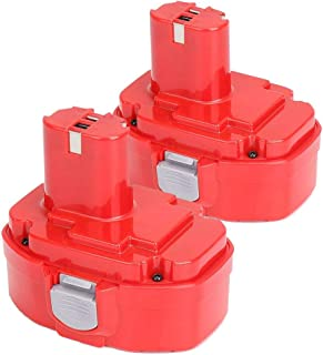 2X DOSCTT BL1850B 18V 5.0Ah Bater/ía de Reemplazo para Makita BL1850 BL1830B BL1830 BL1840B BL1840 BL1815 BL1825 BL1835 BL1845 LXT-400 con Indicador
