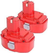 2X Dosctt Reemplazo para Makita PA18 18V 3.0Ah Ni-MH Atornillador Batería de Repuesto 1822 1823 1834 1835 192826-5 192827-3 192829-9 193159-1 193140-2 193102-0 194105-7