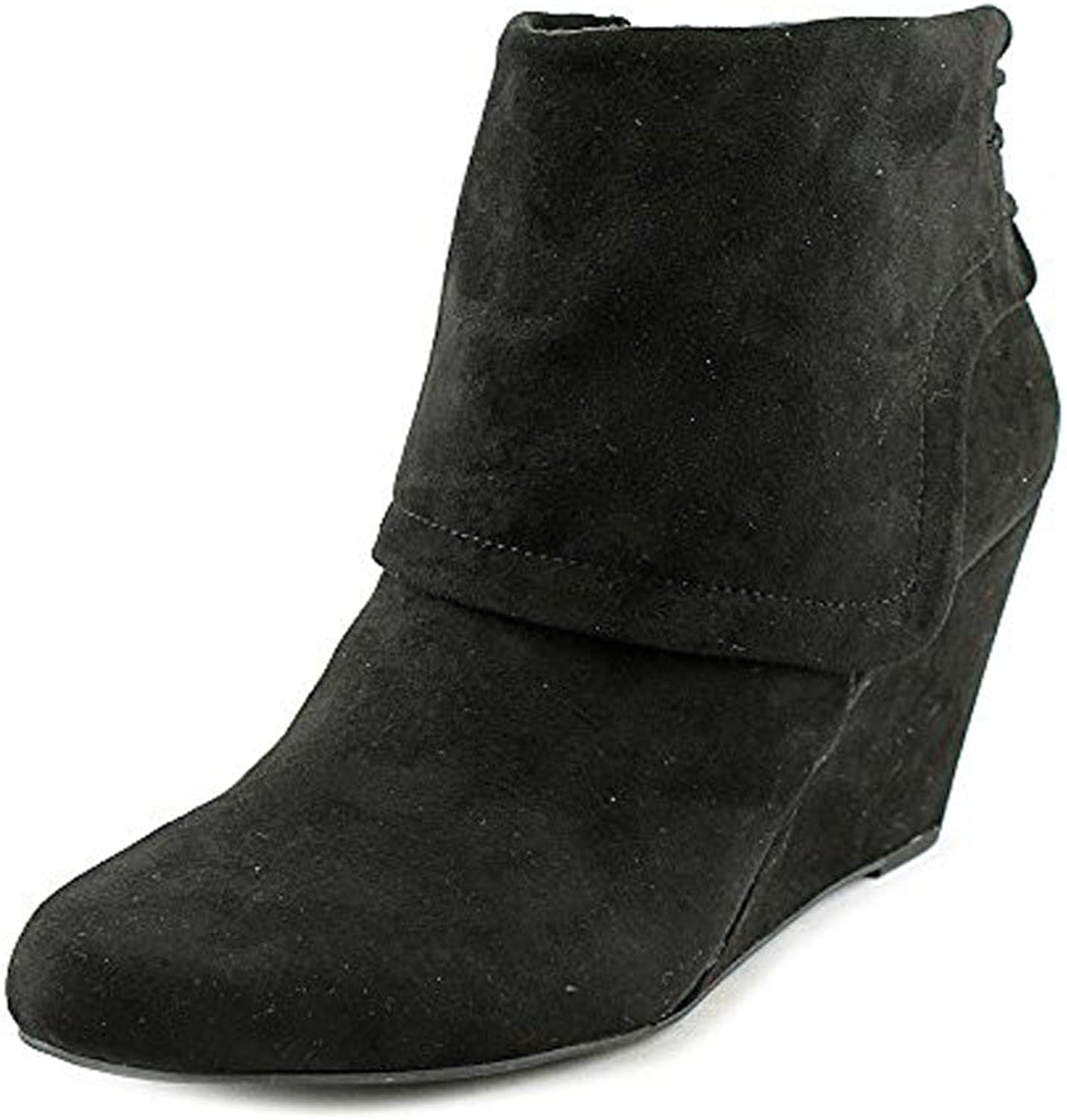 Jessica Simpson Women's Reaca Suede Ankle-High Suede Boot