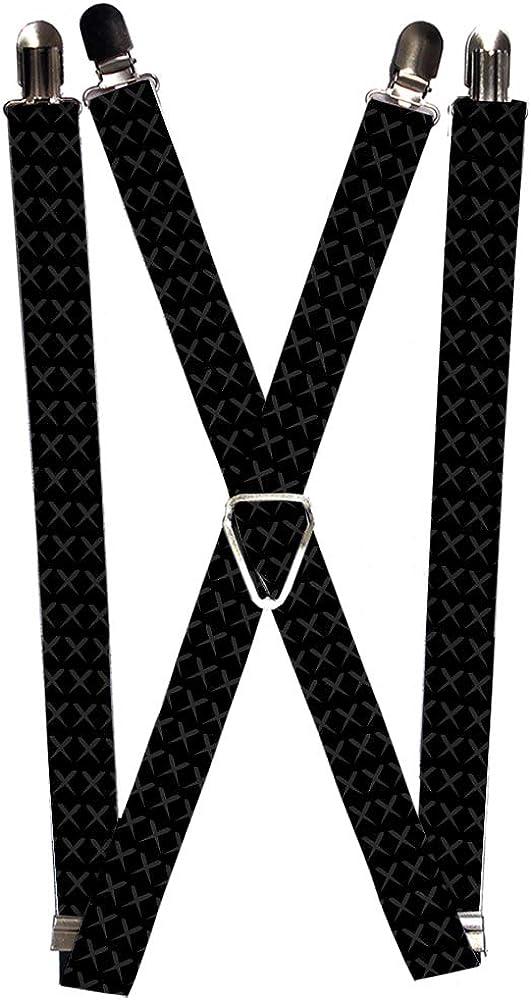 Buckle-Down Suspender - Tread Plate