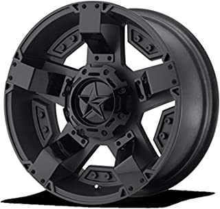 XD SERIES BY KMC WHEELS XD811 ROCKSTAR II Matte Black Wheel with Painted and Chromium (hexavalent compounds) (20 x 9. inches /0 x 78 mm, 18 mm Offset)
