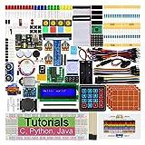 Freenove Raspberry Pi 4 B 3 B+ 400用の究極のスターターキット、434ページの詳細なチュートリアル、Python C Javaコード、223アイテム、57プロジェクト、無はんだブレッドボード