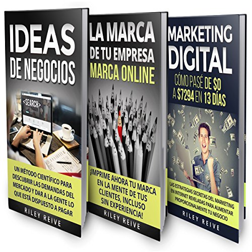 Negocio Online: La Biblia: 3 libros en 1 [Online Business: The Bible: 3 Books in 1] audiobook cover art
