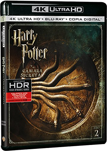 Harry Potter y la Cámara Secreta 4k UHD [Blu-ray]