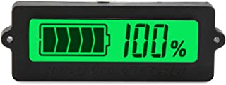 DROK 48V Battery Meter, DC 8-63V Lead Acid Battery Capacity Tester 12V 24V 36V 48 V LCD Digital Battery Monitor Panel Gauge, Lithium Battery Status Indicator for Universal Auto Car Vehicle