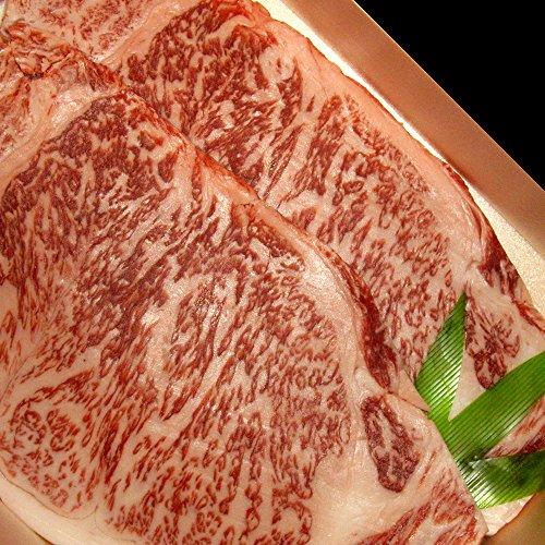 【お中元・夏ギフト】村上牛 サーロインステーキ 200g×2枚セット