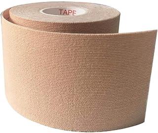 LKJHG 6 Rollen wasserdichtes elastisches Kinesiologie-Tape aus Baumwolle zur Linderung von Muskelschmerzen rose 10cm x 5m