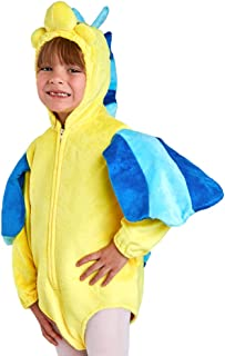 Toddler Flounder Fish Costume, Size Toddler 3-4T