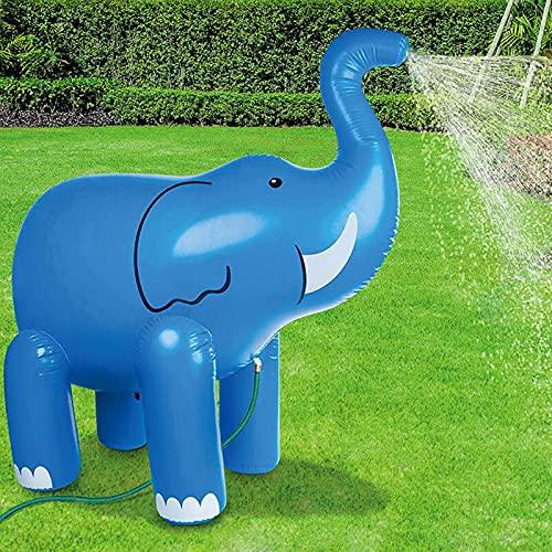 MNVOA Elefante Inflable del Aerosol De Agua, Infantil Al Aire Libre del Aerosol De Agua De Juguete, Los Padres del Niño Elefante Interacción Chorro Lluvia Elefante De Juguete Beach Césped