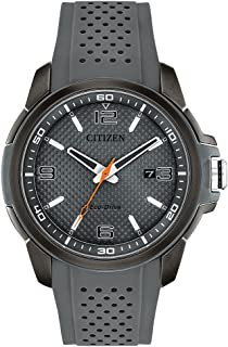 Citizen Men's Analog Eco-Drive Watch with Polyurethane Strap AW1159-02H