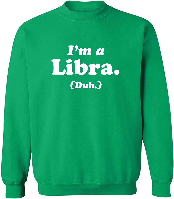 zerogravitee I'm a Libra. (Duh.) Crewneck Sweatshirt