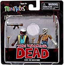 The Walking Dead Comic Book Minimates Series 7 Ezekiel and Mauled Zombie Exclusive Minifigure 2-Pack