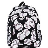 Best  - Baseball Print NGIL Canvas School Backpack Review
