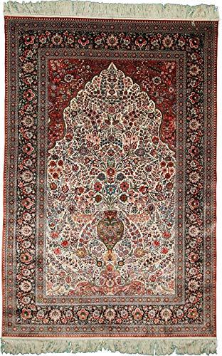 Nain Trading Herike Seide 277x186 Orientteppich Teppich Dunkelgrau/Dunkelbraun Handgeknüpft Türkei