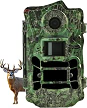 Hunting Trail Camera,30MP Image Resolution and 4K Video Xenon Flash Up to100ft Detection and Lighting Range Wildlife Game Camera with 110°Wide Angle Waterproof No Motion Blur 2'' LCD Scouting Camera