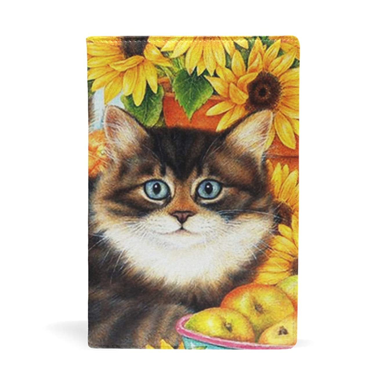 高いヒロイン非常に怒っていますブックカバー 文庫 a5 皮革 レザー 猫の兄弟 文庫本カバー ファイル 資料 収納入れ オフィス用品 読書 雑貨 プレゼント