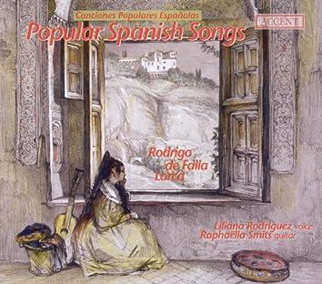 Garcia Lorca, F.: Canciones Españolas Antiguas / Falla, M.: 7 Canciones Populares Españolas / Rodrigo, J.: 3 Villancicos