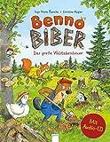 Benno Biber. Das große Waldabenteuer: Ein Sachbilderbuch mit CD