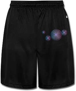 Circles Men's Short Pants Yoga Sweatpants Performance Shorts Workout Sweatpants Gym Sweatpants