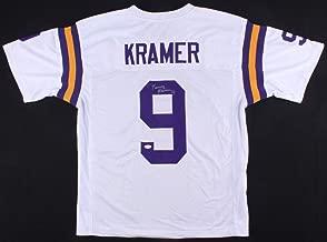 Tommy Kramer Autographed Signed Vikings White Jersey - JSA Certified