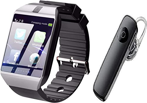 Jyestha Bluetooth Smartwatch Compatible with All Mobile Phones with Free Bluetooth for Boys and Girls