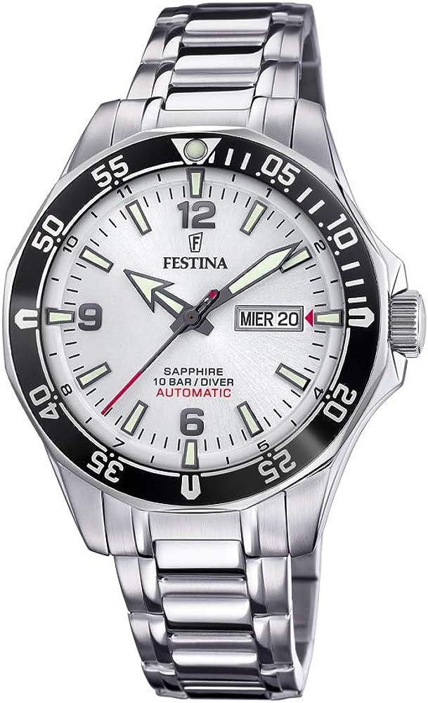 Festina orologio automatico da uomo  in acciaio inossidabile F20478/1
