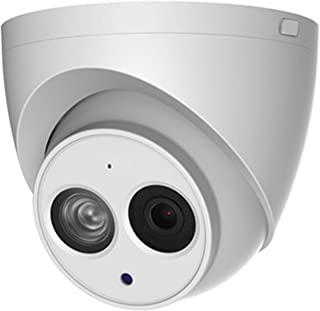 4MP POE IP Camera IPC-HDW4433C-A 2.8mm Indoor Outdoor Dome Security Camera with Audio Built-in Mic IR Night Vision 50m H.2...