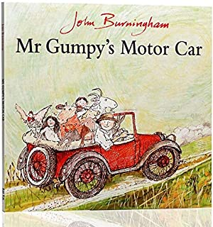 New The English Picture Book Uncle Gan Went for A Drive. Penguin Langdon Press, MR Gumpy's Motor Car Picture Story Educati...