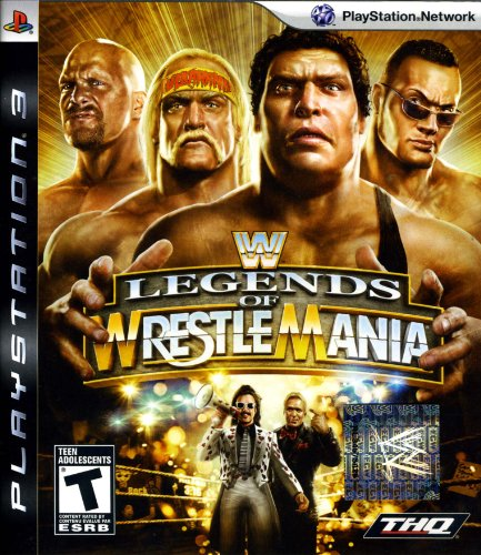 WWE Legends of WrestleMania by THQ