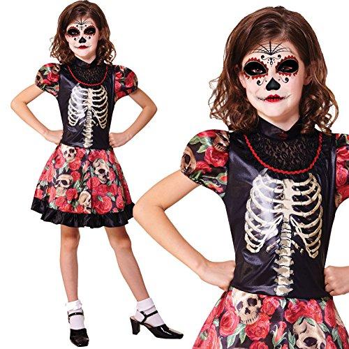 Paper Umbrella Enfant Petites Filles Childrens Halloween Costume de déguisement (122 - 134 cm)