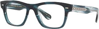 Oliver - 5393U 54 1672 - Eyeglasses (Teal VSB, Clear)