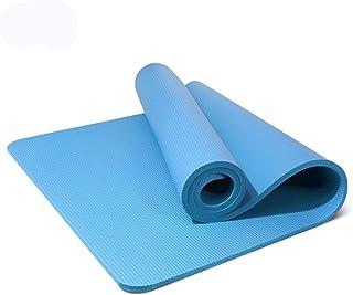 8MM183cmX61CM halksäker yogamatta fitness filt Pilates filtmatta Blå