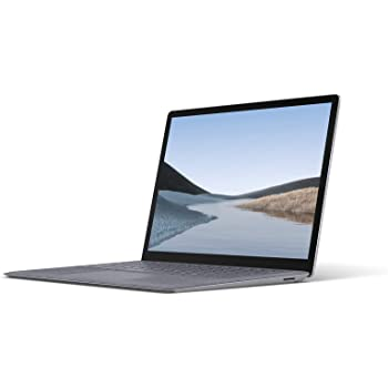 "Microsoft Surface Laptop 3 Ultra-Thin 13.5"" Touchscreen Laptop (Platinum) - Intel 10th Gen Quad Core i5, 8GB RAM, 128GB SSD, Windows 10 Home, 2019 Edition"