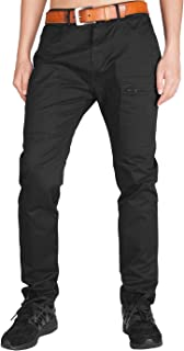 Survivor Cargo Pants for Men Athletic Fit Pockets with Zippers