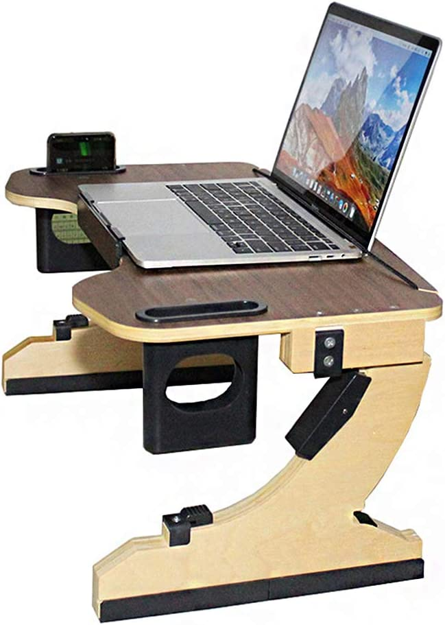 Laptop Memphis Mall Max 83% OFF Stand for Desk Table Portable Bed