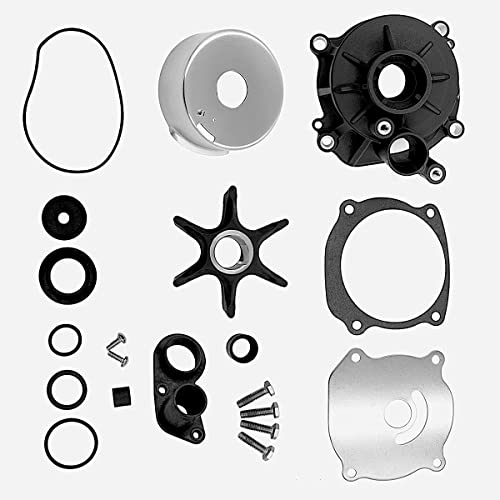 wholesale Water Pump Repair Kit replaces Johnson Evinrude lowest V4 V6 V8 85-300HP Outboard Motor Parts 5001594 and Sierra 18-3392 434421 1979-up high quality models outlet sale
