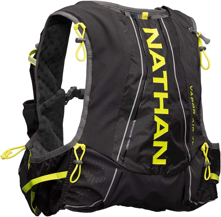 Time sale Nathan Vapor Air Ranking TOP1 7L 2.0 Hydration Vest Nuclear Ye Black Charcoal
