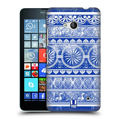 Head Case Designs Ingwertopf Chinesische Vase Muster Harte Rueckseiten Huelle kompatibel mit Microsoft Lumia 640 / Dual SIM